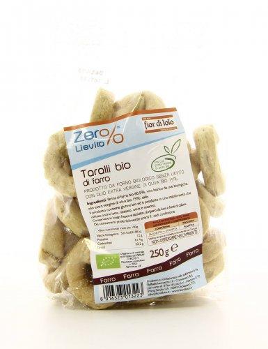 Zero Lievito - Taralli di Farro Bio