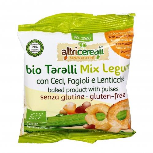 Taralli Mix Legumi Bio - Senza Glutine