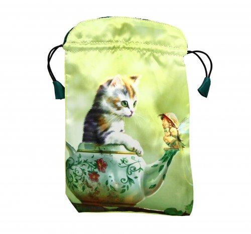 Borsetta Porta Tarocchi - Fantasy Cats
