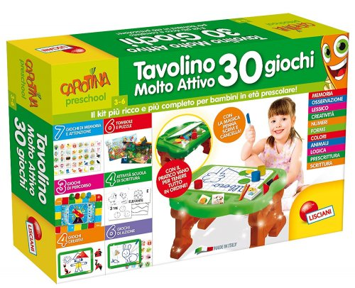 Carotina - Tavolino Molto Attivo - 30 Giochi