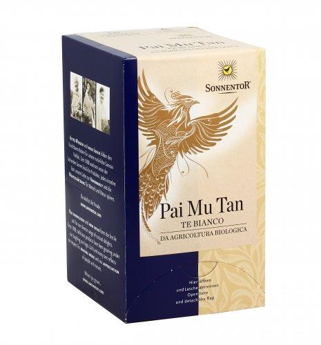 Tè Bianco Pai Mu Tan - 18 Bustine