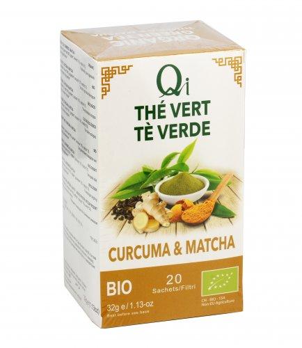 Tè Verde Curcuma e Matcha