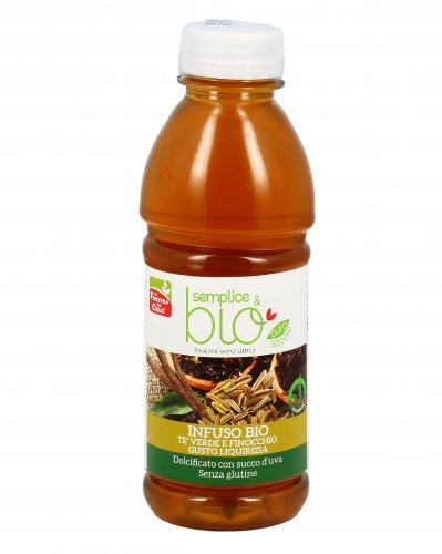 Infuso Tè Verde e Finocchio Gusto Liquirizia - Semplice & Bio