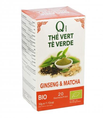 Tè Verde Ginseng e Matcha