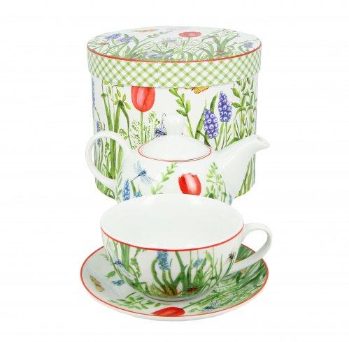 Teiera a Fiori - Tea For One