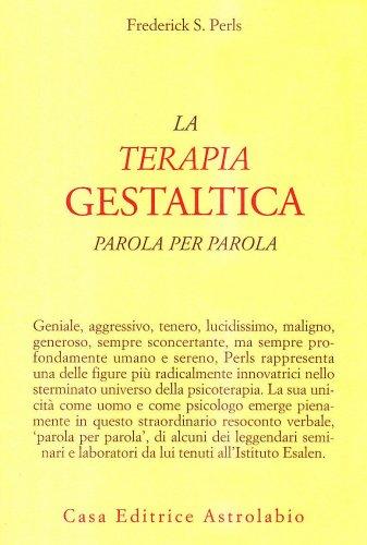 La Terapia Gestaltica