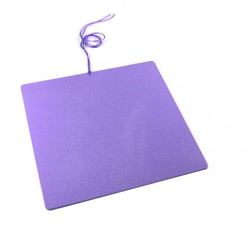 Piastra di Tesla Purpurea - Grande Quadrata