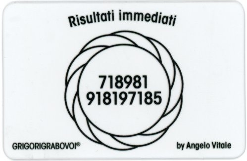 Tessera Radionica - Risultati Immediati