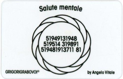 Tessera Radionica - Salute Mentale