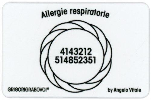 Tessera Radionica - Allergie Respiratorie