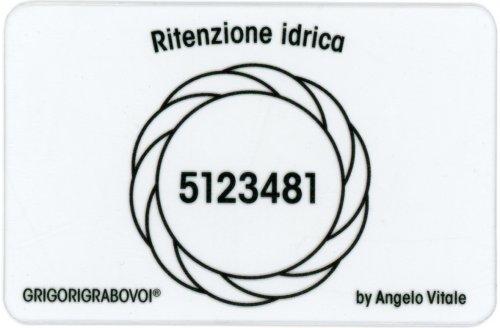 Tessera Radionica - Ritenzione Idrica