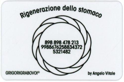 Tessera Radionica - Rigenerazione dello Stomaco