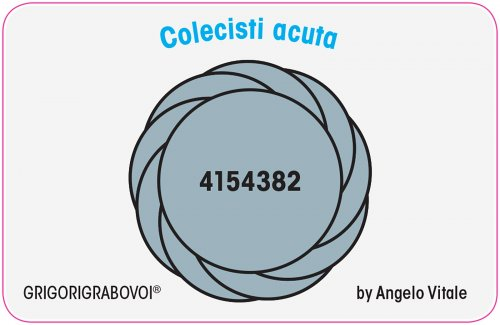 Tessera Radionica 27 - Colecisti Acuta