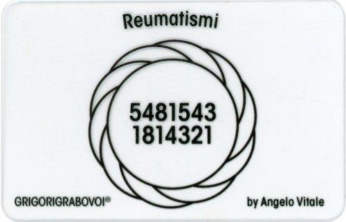 Tessera Radionica 34 - Reumatismi
