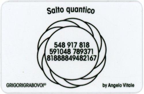 Tessera Radionica - Salto Quantico