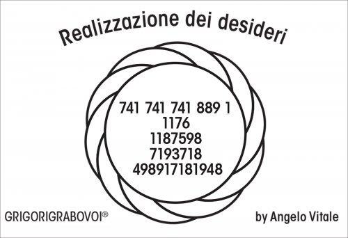 Tessera Radionica 38 - Realizzazione dei Desideri