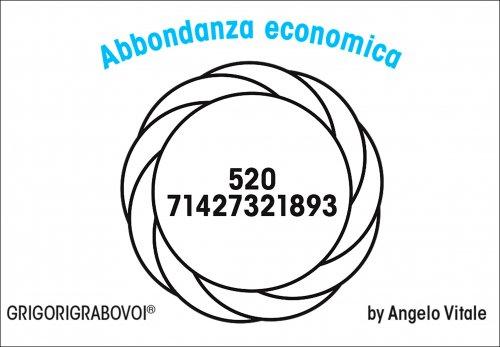 Tessera Radionica 116 - Abbondanza Economica