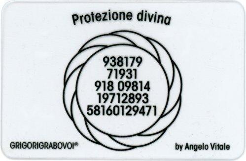 Tessera Radionica - Protezione Divina