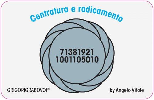 Tessera Radionica 08 - Centratura e Radicamento