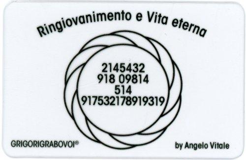 Tessera Radionica - Ringiovanimento e Vita Eterna