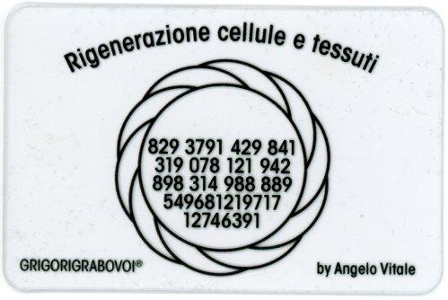 Tessera Radionica - Rignerazione Cellule e Tessuti