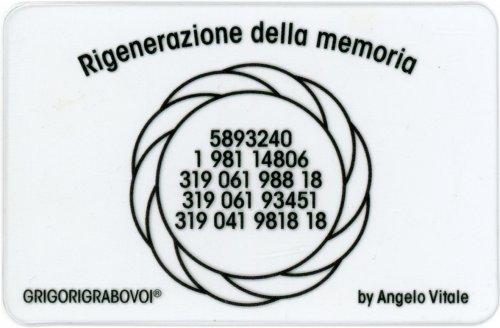 Tessera Radionica - Rigenerazione della Memoria