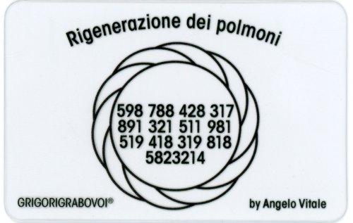 Tessera Radionica - Rigenerazione dei Polmoni