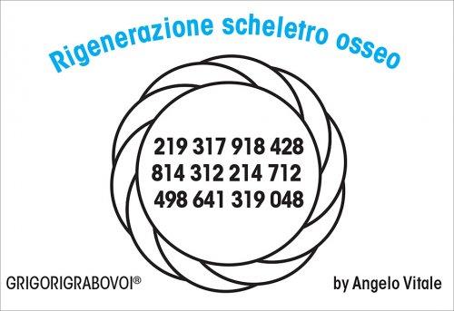 Tessera Radionica - Rigenerazione Scheletro Osseo