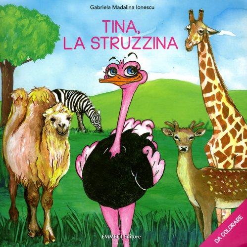 Tina, la Struzzina (da Colorare)