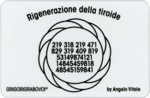 Tessera Radionica - Rigenerazione della Tiroide