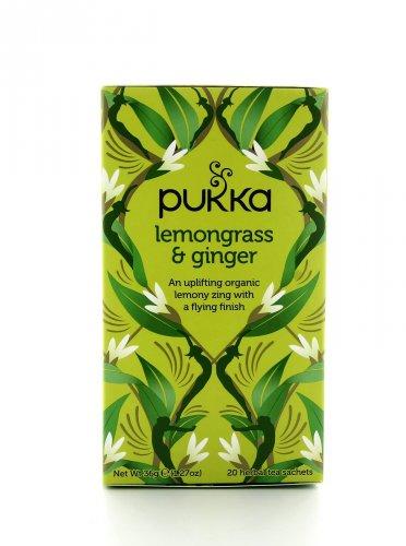 Tisana Pukka - Lemongrass & Ginger