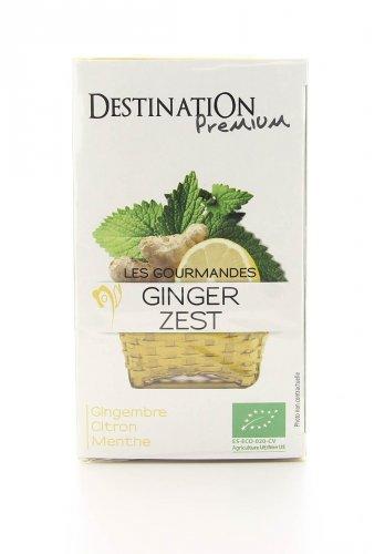 Tisana Zenzero, Limone e Menta Bio Ginger Zest
