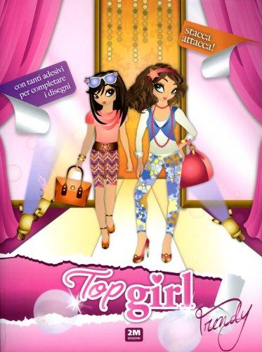 Top Girl Trendy - Con Adesivi