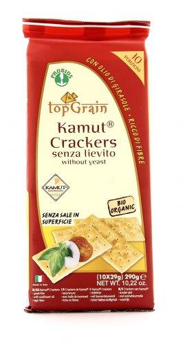 Crackers KAMUT® - grano khorasan Senza Lievito - Top Grain