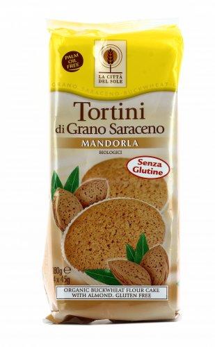 Tortini di Grano Saraceno alla Mandorla Bio
