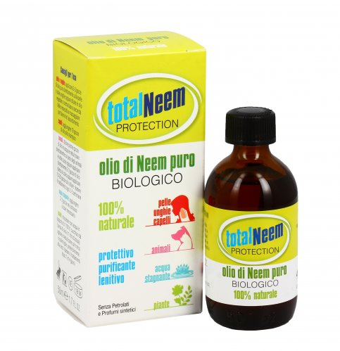 Olio di Neem Puro Bio - Total Neem Protection