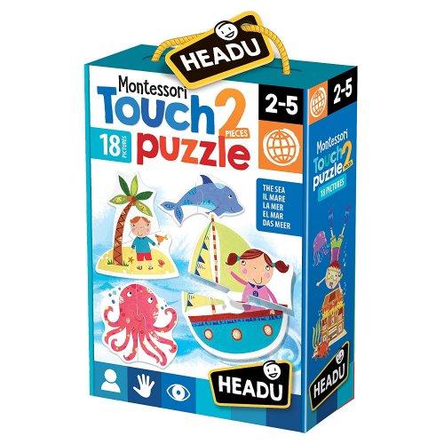 Montessori Touch 2 Pieces Puzzle