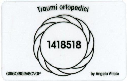 Tessera Radionica 64 - Traumi Ortopedici