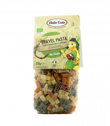 Pasta Bio di Grano Duro con Pomodoro e Spinaci - Travel Pasta