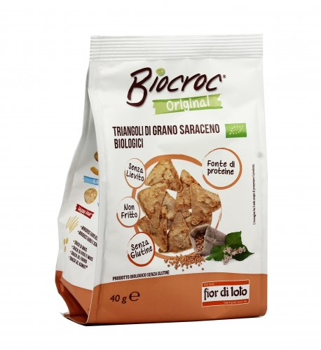 Triangoli di Grano Saraceno - Biocroc