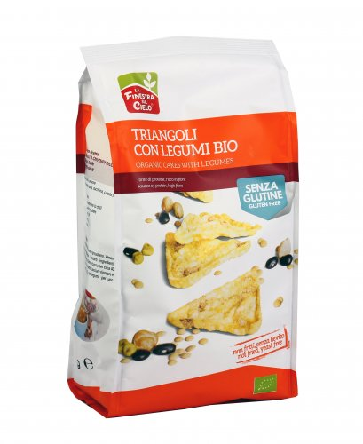 Triangoli con Legumi Bio - Senza Glutine