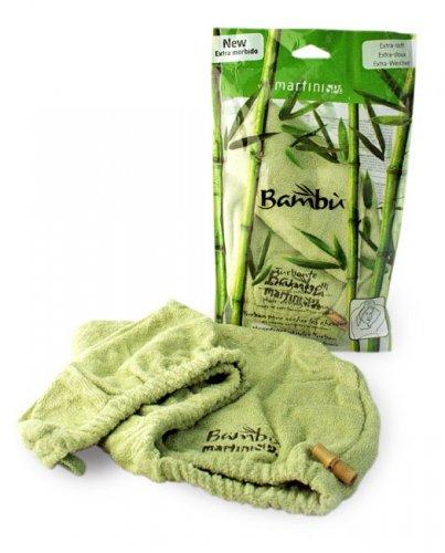 Turbante Asciugacapelli in Soffice Viscosa Estratta dal Bambù