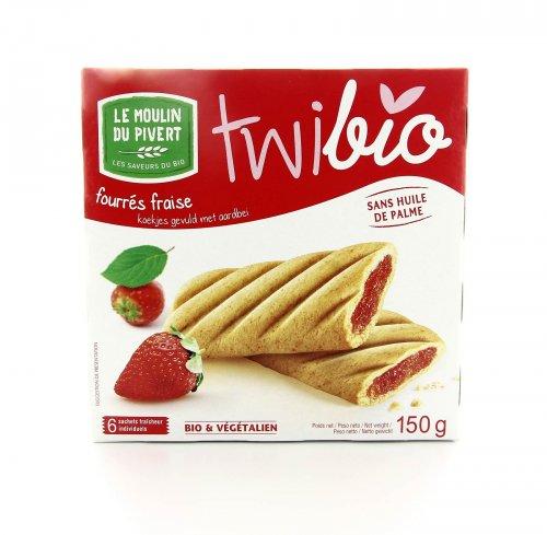 Biscotti con Marmellata di Fragola - Twibio