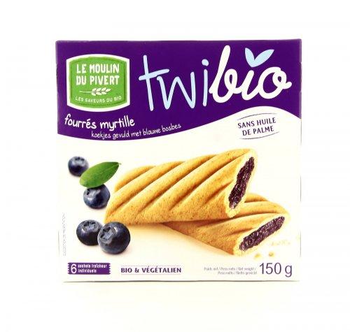 Twibio - Biscotti con Merenda al Mirtillo