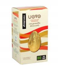Uovo Cioccolato Fondente con Granella di Nocciole