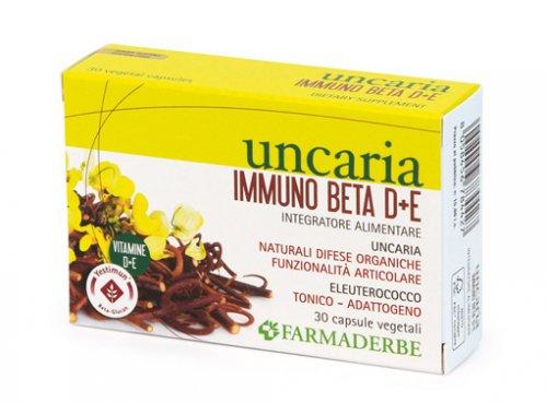 Uncaria Immuno Beta D+E - 30 capsule