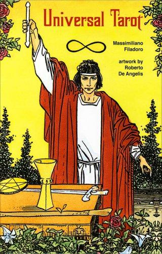 Universal Tarot con Libro e Carte (in Lingua Inglese)