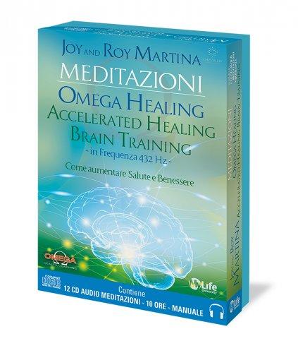 Meditazioni - Omega Healing Accelerated Healing Brain Training (12 CD Audio e Manuale)