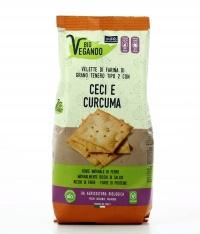 Crackers Velette con Ceci e Curcuma - Bio Vegando