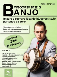 Videocorso Base di Banjo - Volume 2 (eBook)